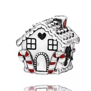 Gingerbread House Silver Charm!
